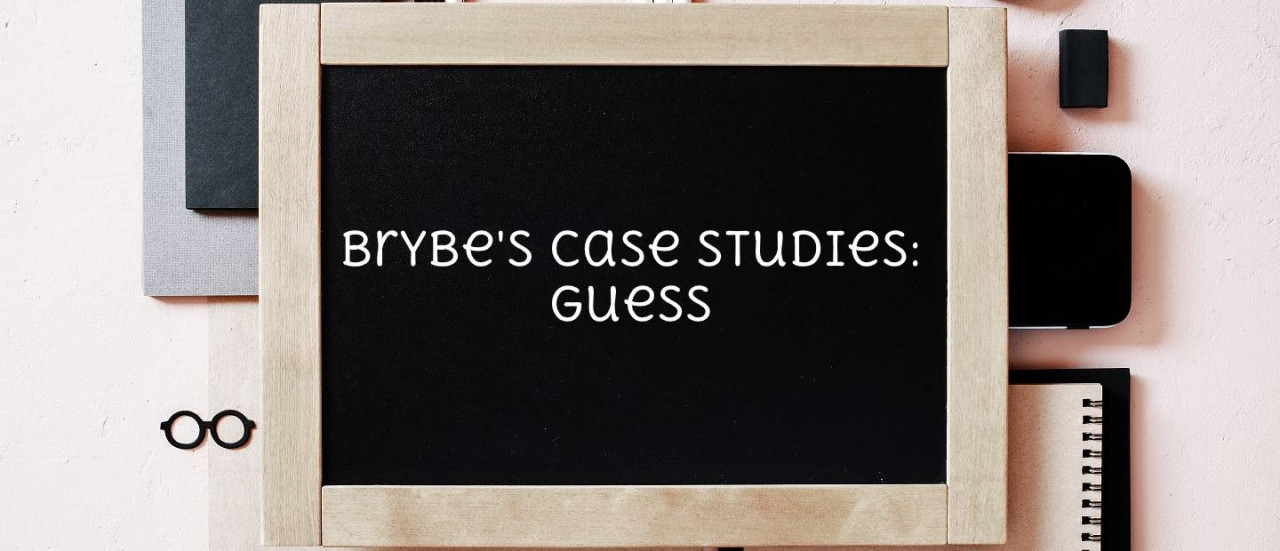 Brybe's Case Studies: Guess