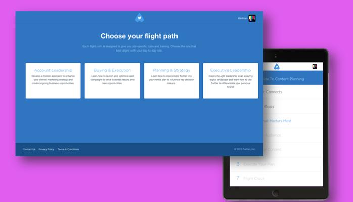 Twitter Flight School Path